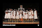 2010 Miami Hurricanes Men's Basketball Team Photo