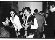 Imran Khan. Alessandra Signorelli. Michael White© Copyright Photograph by Dafydd Jones 66 Stockwell Park Rd. London SW9 0DA Tel 020 7733 0108 www.dafjones.com