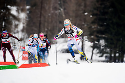 January 6, 2018 - Val Di Fiemme, ITALY - 180106 Jennie …berg of Sweden competes in women's 10km mass start classic technique during Tour de Ski on January 6, 2018 in Val di Fiemme..Photo: Jon Olav Nesvold / BILDBYRN / kod JE / 160122 (Credit Image: © Jon Olav Nesvold/Bildbyran via ZUMA Wire)