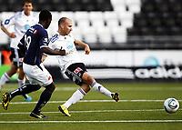 Fotball , 19. august 2011 , Tippeligaen , Eliteserien<br /> Odd - Viking 4-2<br /> Jone Samuelsen , Odd<br /> King Osei Gyan , Viking