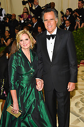 Mitt Romney, Ann Romney attending the Costume Institute Benefit at The Metropolitan Museum of Art celebrating the opening of Heavenly Bodies: Fashion and the Catholic Imagination. The Metropolitan Museum of Art, New York City, New York, May 7, 2018. Photo by Lionel Hahn/ABACAPRESS.COM