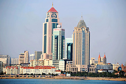 November 1, 2016 - Qingdao, Qingdao, China - Qingdao,CHINA-November 1 2016: (EDITORIAL USE ONLY. CHINA OUT) ..Scenery of Qingdao, China's Shandong Province, November 1st, 2016.  Qingdao is a city in eastern Shandong Province on the east coast of China. It is the largest city in its province. (Credit Image: © SIPA Asia via ZUMA Wire)