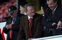 Photo: Tony Oudot.<br />Watford v Charlton Athletic. The Barclays Premiership. 03/03/2007.<br />Comedian Jim Davidson in the crowd