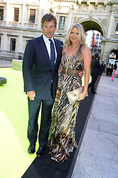 AMANDA WAKELEY and HUGH MORRISON at the preview party for The Royal Academy Of Arts Summer Exhibition 2013 at Royal Academy of Arts, London on 5th June 2013.
