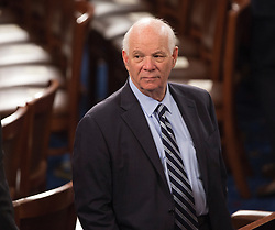 United States Senator Ben Cardin (Democrat of Maryland) awaits the arrival of U.S. President Donald J. Trump to address a joint session of Congress on Capitol Hill in Washington, DC, USA, February 28, 2017. Photo by Chris Kleponis/CNP/ABACAPRESS.COM