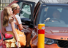 Zara Phillips and husband Mike Tindall carry on their normal life - 12 Jan 2020