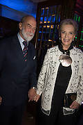 PRINCE MICHAEL OF KENT; PRINCESS MICHAEL OF KENT, The Brown's Hotel Summer Party hosted by Sir Rocco Forte and Olga Polizzi, Brown's Hotel. Albermarle St. London. 14 May 2015