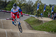 #155 (KLESHCHENKO Evgeny) RUS at the 2016 UCI BMX Supercross World Cup in Papendal, The Netherlands.