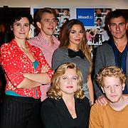 NLD/Amsterdam/20111103- Perspresentatie NCRV TV serie Mixed Up, Tamar van den Dop, Anneke Blok, Viggo Waas, Pepijn Schoneveld, Georgina Verbaan en Waldemar Torenstra