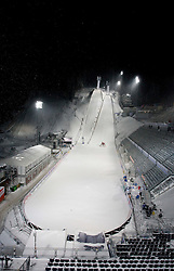 Because of snow cancelled ski jumps training and nordic combined finals  in Jested at FIS Nordic World Ski Championships Liberec 2009, on February 19, 2009, in Liberec, Czech Republic. (Photo by Vid Ponikvar / Sportida)
