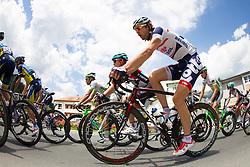 02.07.2013, Osttirol, AUT, 65. Oesterreich Rundfahrt, 3. Etappe, Heiligenblut - Matrei in Osttirol, im Bild Matthew Busche (USA, Radioshack Leopard), Jurgen Van de Walle (BEL, Lotto Belisol) // during the 65 th Tour of Austria, Stage 3, from Heiligenblut to Matrei, Tyrol, Austria on 2013/07/02. EXPA Pictures © 2013, PhotoCredit: EXPA/ Johann Groder