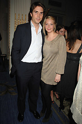 DAVID CRAMMER and the HON.TANYA HAMILTON-SMITH at a party to celebrate the launch of The Essential Party Guide held at the Mandarin Oriental Hyde Park, 66 Knightsbridge, London on 27th March 2007.<br /><br />NON EXCLUSIVE - WORLD RIGHTS
