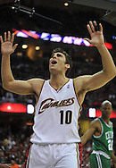 Cleveland's Wally Szczerbiak..The Cleveland Cavaliers defeated the Boston Celtics 108-84 in Game 3 of the Eastern Conference Semi-Finals at Quicken Loans Arena in Cleveland.