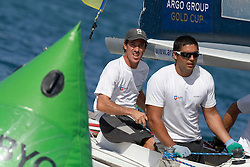 on day 1 of the Argo Group Gold Cup 2010. Hamilton, Bermuda. 5 October 2010. Photo: Subzero Images/WMRT