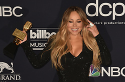 May 1, 2019 - Las Vegas, NV, USA - LAS VEGAS, NEVADA - MAY 01: Mariah Carey poses with the Icon Award in the press room during the 2019 Billboard Music Awards at MGM Grand Garden Arena on May 01, 2019 in Las Vegas, Nevada. Photo: imageSPACE (Credit Image: © Imagespace via ZUMA Wire)