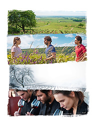 RELEASE DATE: June 14, 2017 TITLE: Back To Burgundy STUDIO: StudioCanal DIRECTOR: Cedric Klapisch PLOT: After a 10 year absence, Jean returns to his hometown when his father falls ill. Reuniting with his sister Juliette and his brother Jeremie, they have to re-build their relationship and trust as a family again. STARRING: Poster Art. (Credit Image: © StudioCanal/Entertainment Pictures/ZUMAPRESS.com)