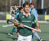 WASSENAAR - Jeroen Hertzberger (Rotterdam) tijdens de hoofdklasse competitiewedstrijd heren, HGC-HC ROTTERDAM (0-7) .     COPYRIGHT  KOEN SUYK