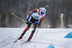 February 8, 2019 - Calgary, Alberta, Canada - Krcmar Michal (CZE) is competing during Men's Relay of 7 BMW IBU World Cup Biathlon 2018-2019. Canmore, Canada, 08.02.2019 (Credit Image: © Russian Look via ZUMA Wire)