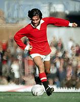 Fotball<br /> Foto: Colorsport/Digitalsport<br /> NORWAY ONLY<br /> <br /> Georg Best - døde i dag 25.11.2005<br /> <br /> George Best (Utd)  Manchester United 1-0 Ipswich at Old Trafford, 4/9/1971