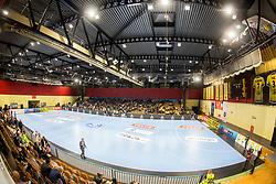Rdeca dvorana during handball match between RK Gorenje Velenje and Kadetten Schaffhausen in VELUX EHF Champions League, on November 25, 2017 in Rdeca Dvorana, Velenje, Slovenia. Photo by Ziga Zupan / Sportida