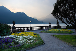 View from the gardens of Grand Hotel Villa Serbollini
