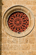 The Cathedral of Cartagena, Architecture detail (1577), Cartagena de Indias, Bolivar Department,, Colombia, South America.