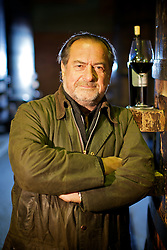 O enólogo francês Michel Rolland, na vinícola Miolo, em Bento Gonçalves, no Rio Grande do Sul. FOTO: Jefferson Bernardes/Preview.com