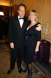 The EARL & COUNTESS OF MARCH at the Cartier Racing Awards 2006 held at the Four Seasons Hotel, Hamilton Place, London on 15th November 2006.<br />