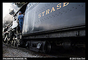 The Conductor<br /> Strasburg Railroad, PA<br /> August 2013
