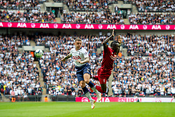 September 15, 2018 - Kieran Trippier of Tottenham Hotspur and Sadio Mané of Liverpool during the Premier League match between Tottenham Hotspur and Liverpool at Wembley Stadium, London, England on 15 September 2018. Photo by Salvio Calabrese. (Credit Image: © AFP7 via ZUMA Wire)