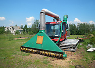 Grass cutter - Used for Aquatic Warbler habitat in Belarus