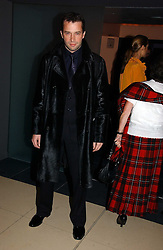 JAMES PUREFOY at a Burns Night dinner in aid of CLIC Sargent and Children's Hospice Association Scotland held at St.Martin's Lane Hotel, St.Martin's Lane, London on 25th January 2007.<br />