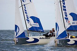 Matchracing, Day 4, May 27th, Delta Lloyd Regatta in Medemblik, The Netherlands (26/30 May 2011).
