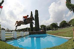 Knoester Glenn (NED) - Alpicor<br /> FEI European Jumping Championship for young riders <br /> Arezzo 2014<br /> © Hippo Foto - Stefano Secchi