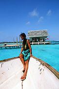 Black Pearl farm, Ahe, Tuamotus,, French Polynesia