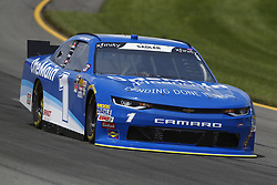 June 1, 2018 - Long Pond, Pennsylvania, United States of America - Elliott Sadler (1) brings his car through the turns during practice for the Pocono Green 250 at Pocono Raceway in Long Pond, Pennsylvania. (Credit Image: © Chris Owens Asp Inc/ASP via ZUMA Wire)
