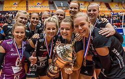 02-10-2016 NED: Supercup VC Sneek - Eurosped, Doetinchem<br /> Eurosped wint de Supercup door Sneek met 3-0 te verslaan /