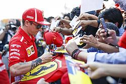 October 25, 2018 - Mexico-City, Mexico - Motorsports: FIA Formula One World Championship 2018, Grand Prix of Mexico, ..#7 Kimi Raikkonen (FIN, Scuderia Ferrari) (Credit Image: © Hoch Zwei via ZUMA Wire)