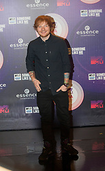 Ed Sheehan.<br /> Red carpet at the MTV EMA, Glasgow.