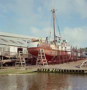 "ackroyd-C02471-3. ""Bumble Bee Drydock. Astoria. May 7, 1968."""