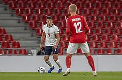 Conor Coady (England) under UEFA Nations League kampen mellem Danmark og England den 8. september 2020 i Parken, København (Foto: Claus Birch).