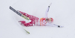 31.01.2016, Casino Arena, Seefeld, AUT, FIS Weltcup Nordische Kombination, Seefeld Triple, Skisprung, Wertungssprung, im Bild Eric Frenzel (GER) // Eric Frenzel of Germany and his crash during the Competition Jump of Skijumping of the FIS Nordic Combined World Cup Seefeld Triple at the Casino Arena in Seefeld, Austria on 2016/01/31. EXPA Pictures © 2016, PhotoCredit: EXPA/ Jakob Gruber