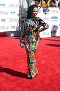 June 30, 2012-Los Angeles, CA : Recording Artist Elle Varner attends the 2012 BET Awards held at the Shrine Auditorium on July 1, 2012 in Los Angeles. The BET Awards were established in 2001 by the Black Entertainment Television network to celebrate African Americans and other minorities in music, acting, sports, and other fields of entertainment over the past year. The awards are presented annually, and they are broadcast live on BET. (Photo by Terrence Jennings)
