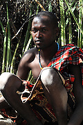 Africa, Tanzania, members of the Datoga tribe