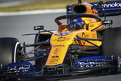 February 18, 2019 - Barcelona, Spain - 55 SAINZ Carlos (spa), McLaren Renault F1 MCL34, action during Formula 1 winter tests from February 18 to 21, 2019 at Barcelona, Spain - Photo Motorsports: FIA Formula One World Championship 2019, Test in Barcelona, (Credit Image: © Hoch Zwei via ZUMA Wire)
