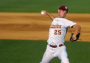 TALLAHASSEE, FL. 5/7/08-Florida State's Mike McGee pitches during action against Jacksonville, Wednesday in Tallahassee. COLIN HACKLEY PHOTO