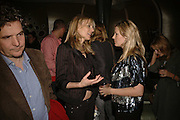 KIM HERSOV AND SARA BUYS ( PARKER BOWLES) , Luella Bartley Dinner, Nobu, Berkeley St. 16 May 2006. ONE TIME USE ONLY - DO NOT ARCHIVE  © Copyright Photograph by Dafydd Jones 66 Stockwell Park Rd. London SW9 0DA Tel 020 7733 0108 www.dafjones.com