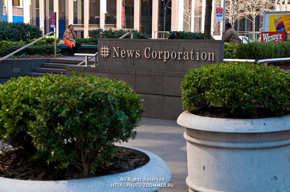 News Corp. Headquarters, Avenue of the Americas, New York, USA