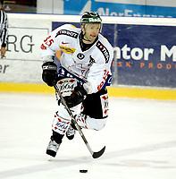 Ishockey Landskamp <br /> Treningskamp <br /> 16.04.09 Jordal Amfi<br /> Norge - Sveits<br /> <br /> Sandy Jeannin<br /> <br /> Foto: Eirik Førde