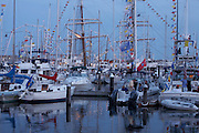 Newport, RI 2007 - Tallships from around the world congregate in Newport for the summer of 2007 Tallships festival.